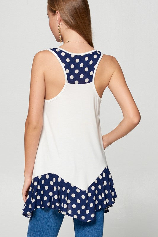 Polka! Polka! Polka Dot Top