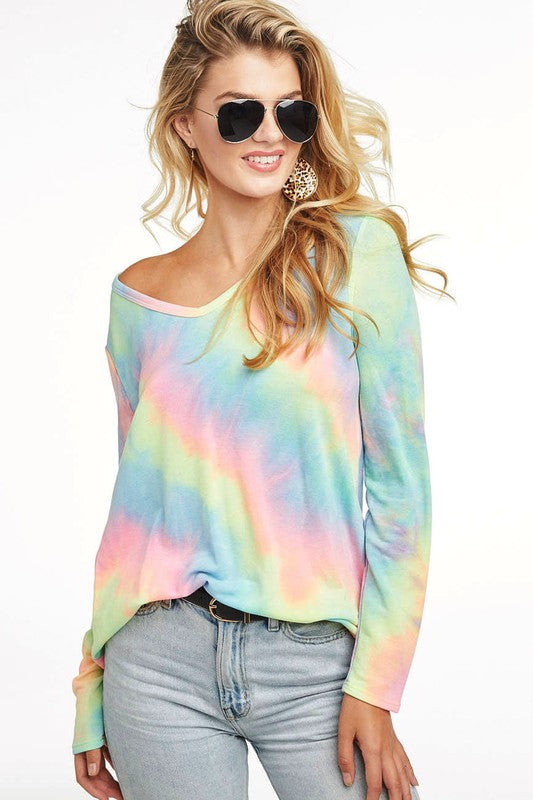Brighten Your Day Tie Dye Top