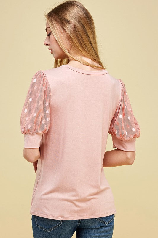 Polka Dot Princess Top