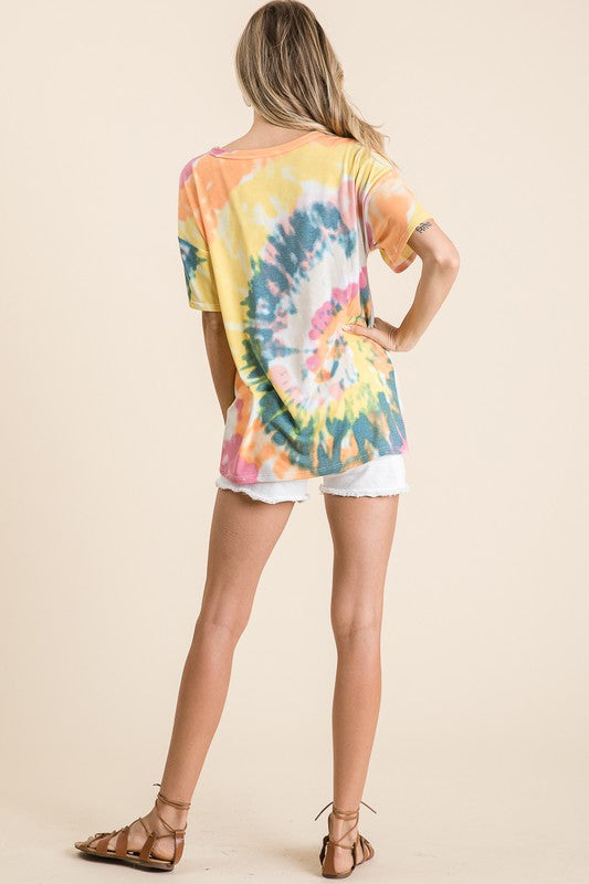 All the Rage Tie Dye Top