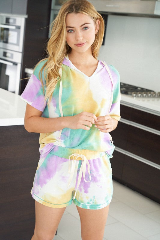 Soft And In Style Tie Dye Shorts
