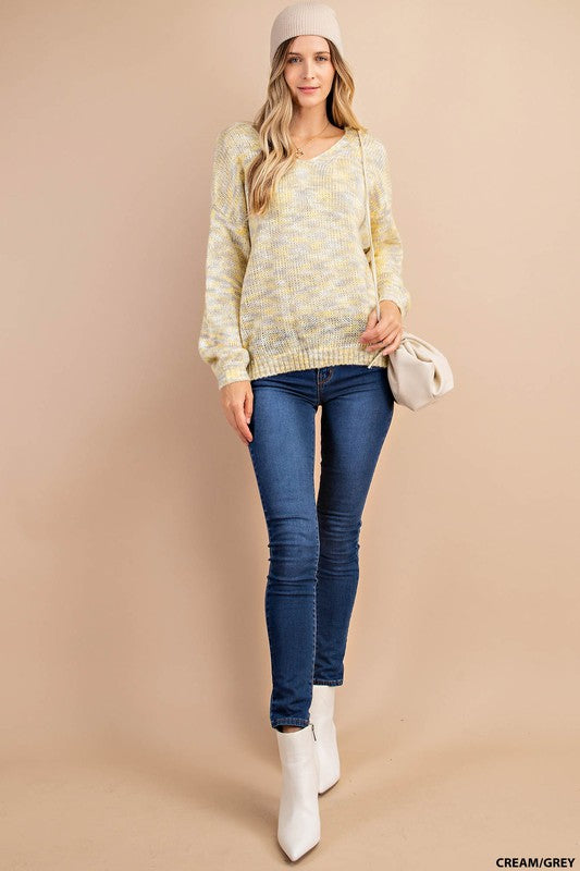 Rock Those Neutrals Sweater