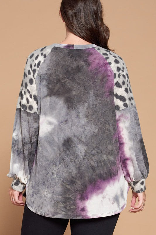 Purple Haze Tie Dye Top