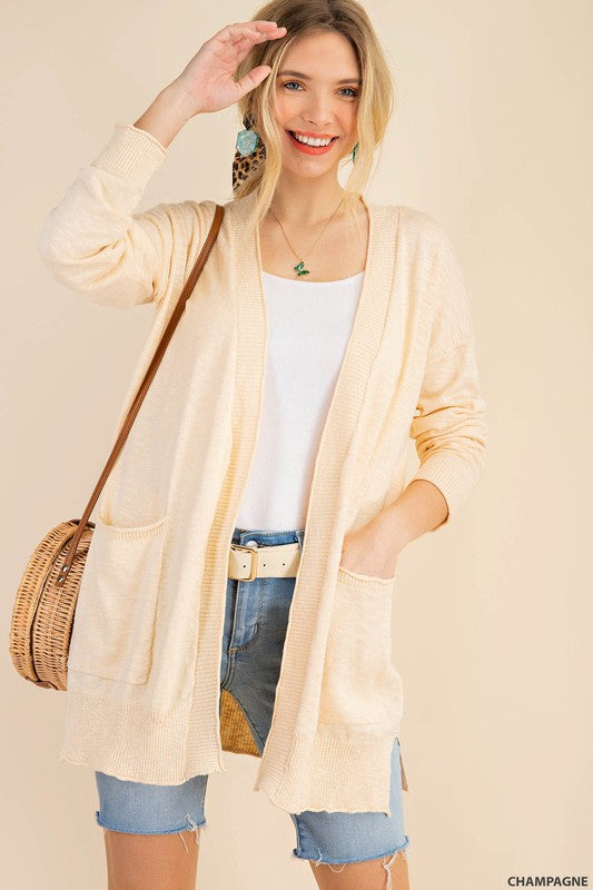 The In Between Sweater Cardigan
