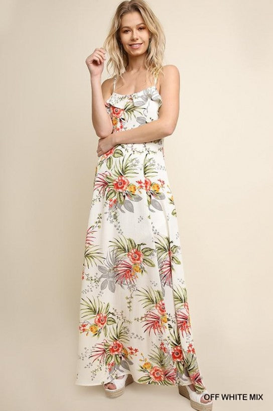 Take Me to the Tropics Maxi Dress