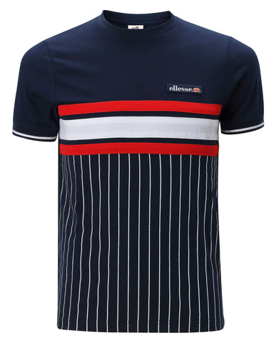 Camiseta ellesse Volandri Dress Blue/Optic White