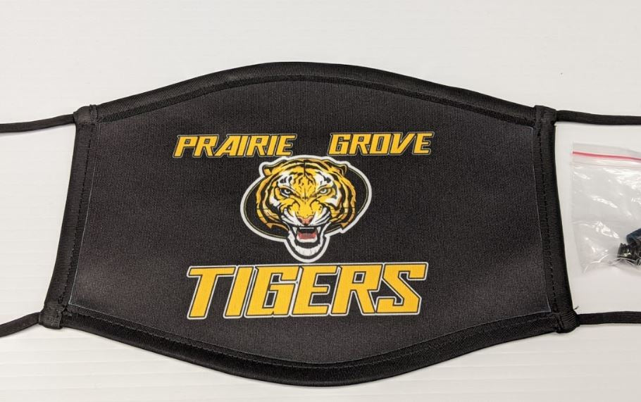 Black Prairie Grove Mask