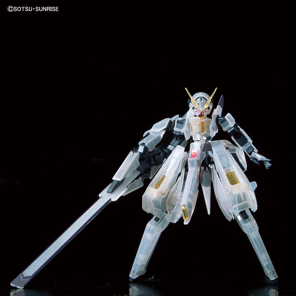 HG 1/144 Gundam Base Limited Gundam TR-6 Woundwort Clear Color