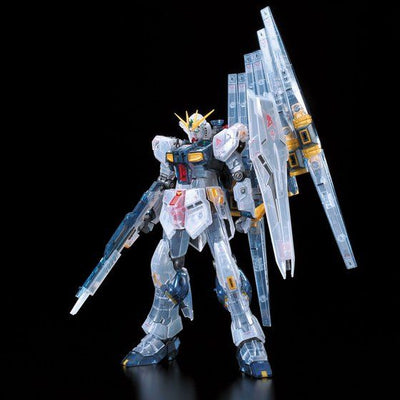 Gunpla Expo Tokyo RG 1/144 RX-93 NU GUNDAM CLEAR COLOR FIRST PRODUCTION LIMITED PACKAGE [End of January 2021 Pre-Order]