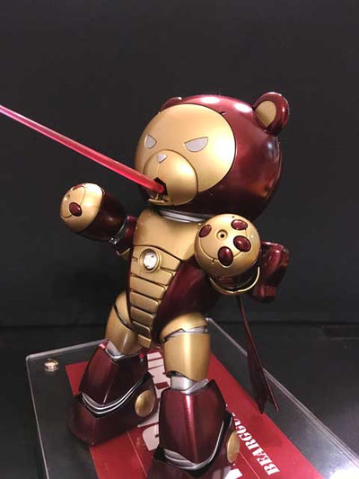 Marbear Beargguy Ver. Iron Man [PAINTED MODEL]