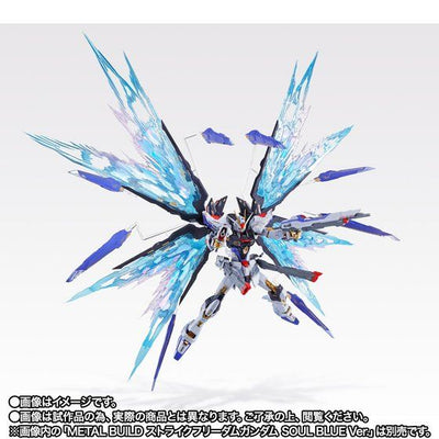 METAL BUILD STRIKE FREEDOM GUNDAM WINGS OF LIGHT OPTION SET SOUL BLUE Ver. [End of FEBRUARY 2021]***PARTS ONLY***