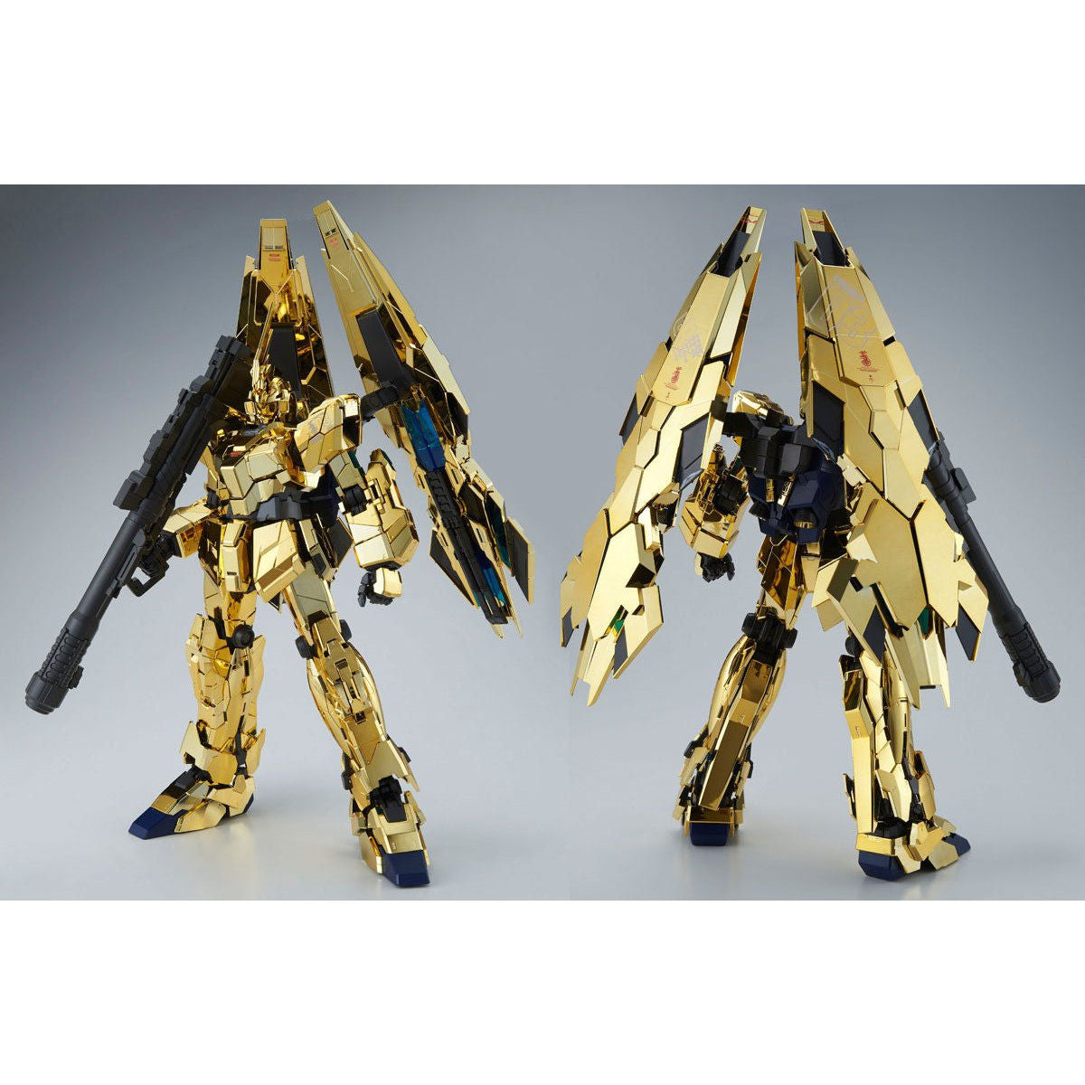 P-BANDAI: PG 1/60 UNICORN GUNDAM 03 PHENEX GOLD PLATED LED UNIT SOLD SEPARATELY [End of September]