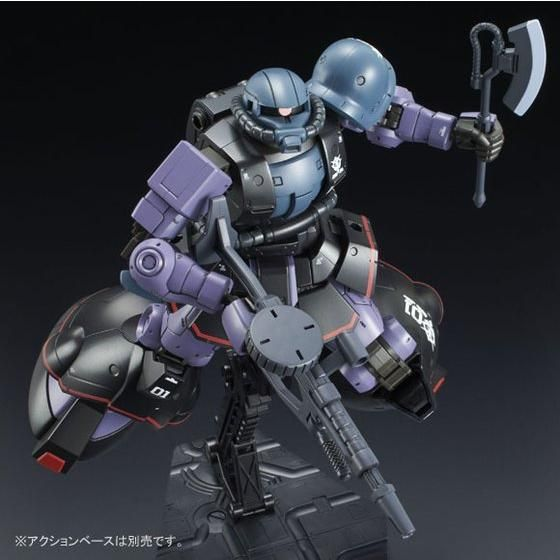 P-Bandai: HG 1/144 MS-06RD-4 High Mobility Prototype Zaku [End of July]