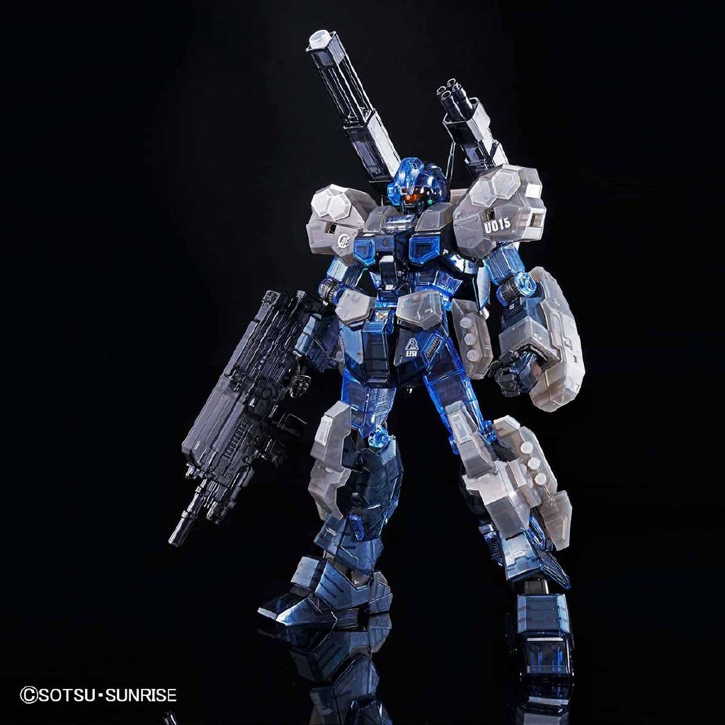 Gundam Base Limited MG 1/100 Jesta Cannon CLEAR VERSION [IN-STOCK]