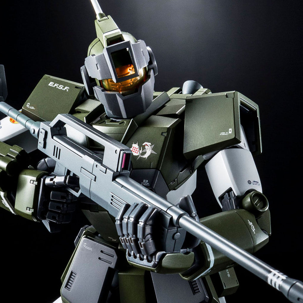 P-Bandai: MG 1/100 GM Sniper Custom Tenneth A. Jung Custom [End of September]