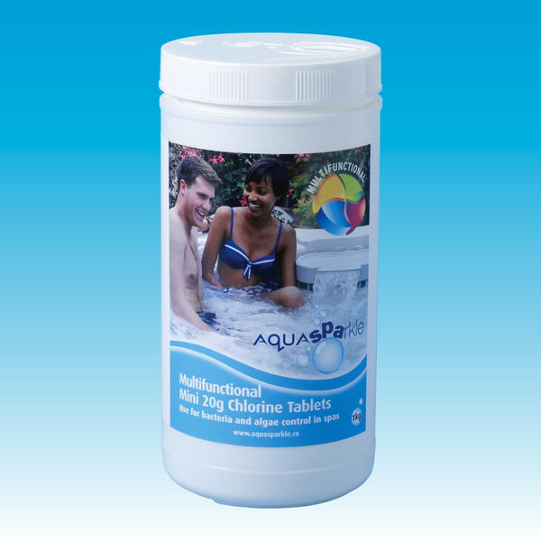 Stabilised Multi Chlorine Mini Tablets 1Kg