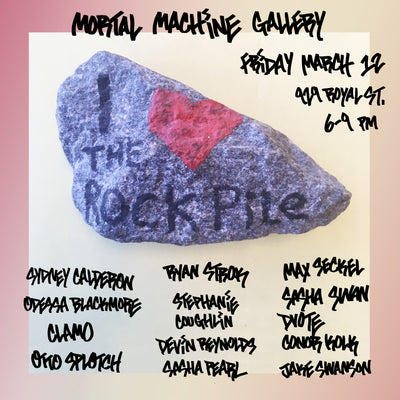 I Love The Rock Pile Group Show | Curated by Max Seckel