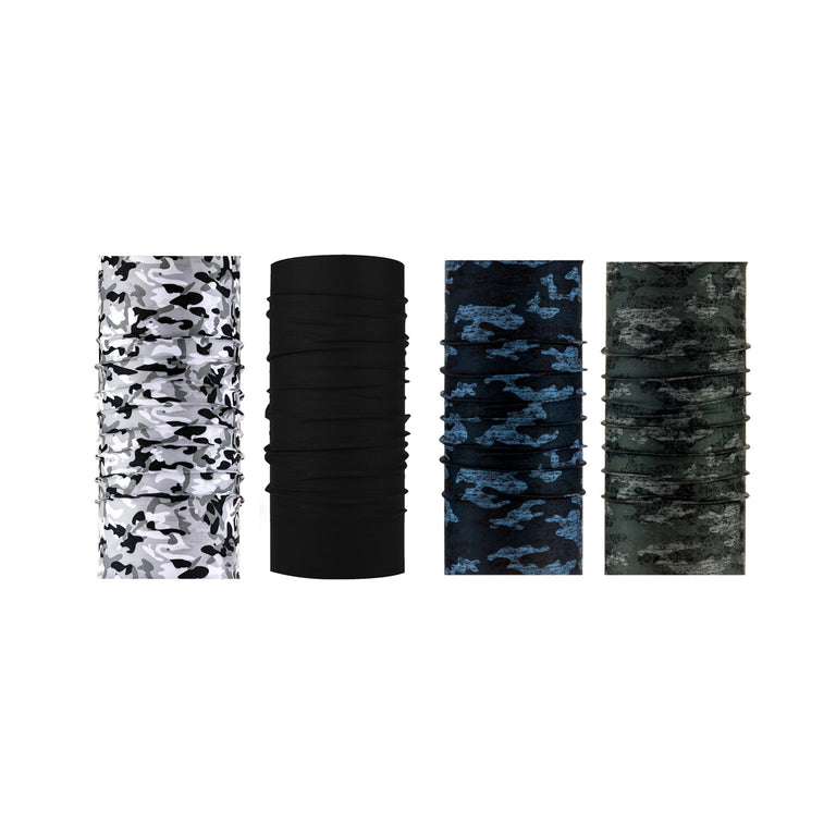 Neck Gaiter - Face Mask Bandana (4 PACK) - Brodys