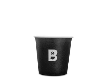 BRODYS Disposable Paper Cups, 100ml, 4oz - 50 count - Brodys