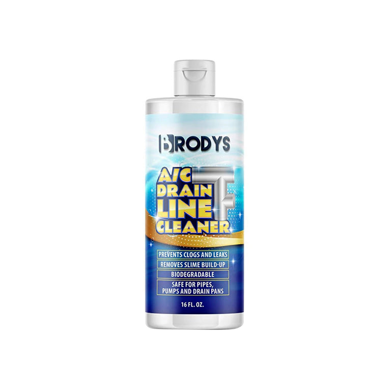 Brodys - A/C HVAC Drain Line Cleaner,  16oz Bottle - Brodys