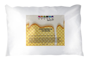 Soft Serve Mix, Toasted Marshmallow Ice Cream, 3 lb Bag - Brodys