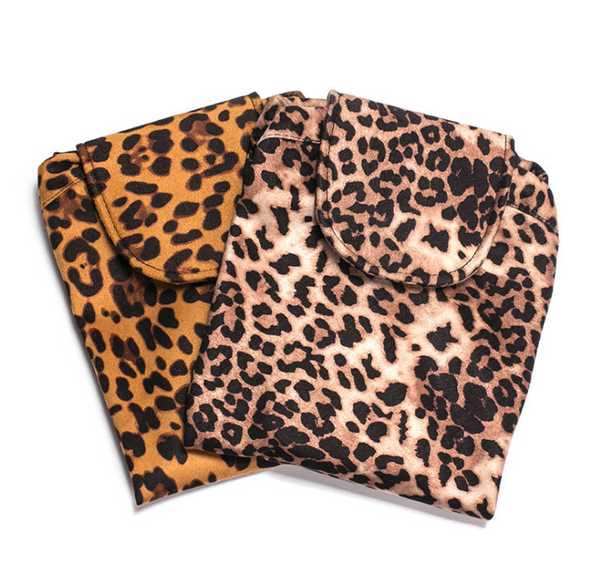 Animal Print Cosmetic Bag