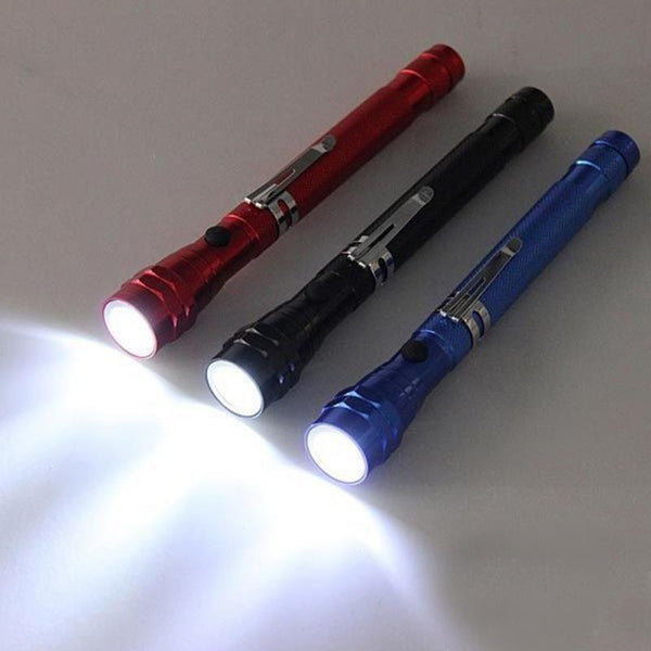 Multi-Function 3X LED Flashlight