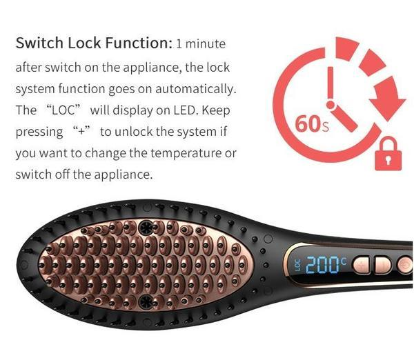 LN-432 Brush Straightener
