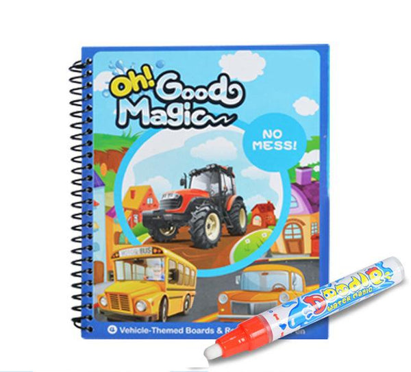 Children Doodle Magical Coloring Book