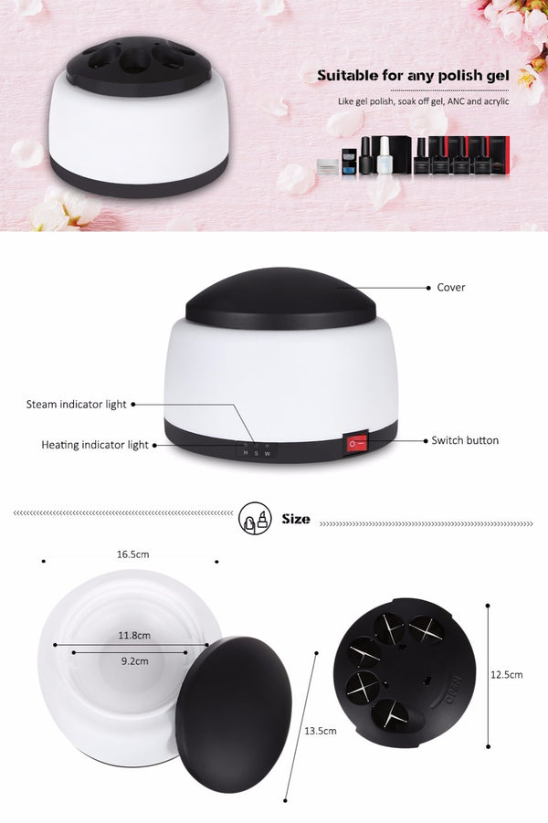 Pro Electric UV Gel Polish Removal Machine