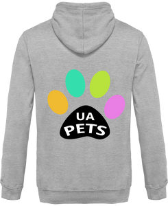 Sweat Capuche Bicolore UA pets chien chat recto/verso imprimé