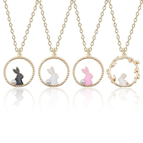 Collier collection lapins