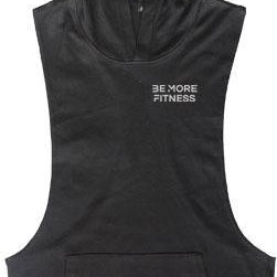 Cutout Sleeveless Hoodie-hoodie-Be More Fitness UK-M-Be More Fitness® Ltd