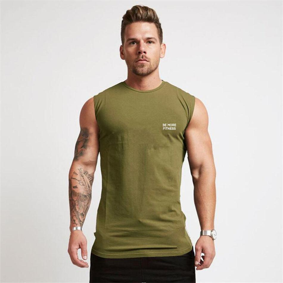 Fitted Sleeveless Shirt-T-Shirt-Be More Fitness® Ltd