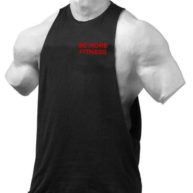 Cut Out Tank-Tank Top-Be More Fitness UK-M-Be More Fitness® Ltd