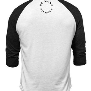 Raglan 3/4 Sleeve-Tops-Be More Fitness UK-Be More Fitness® Ltd
