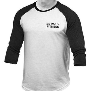 Raglan 3/4 Sleeve-Tops-Be More Fitness UK-M-Be More Fitness® Ltd