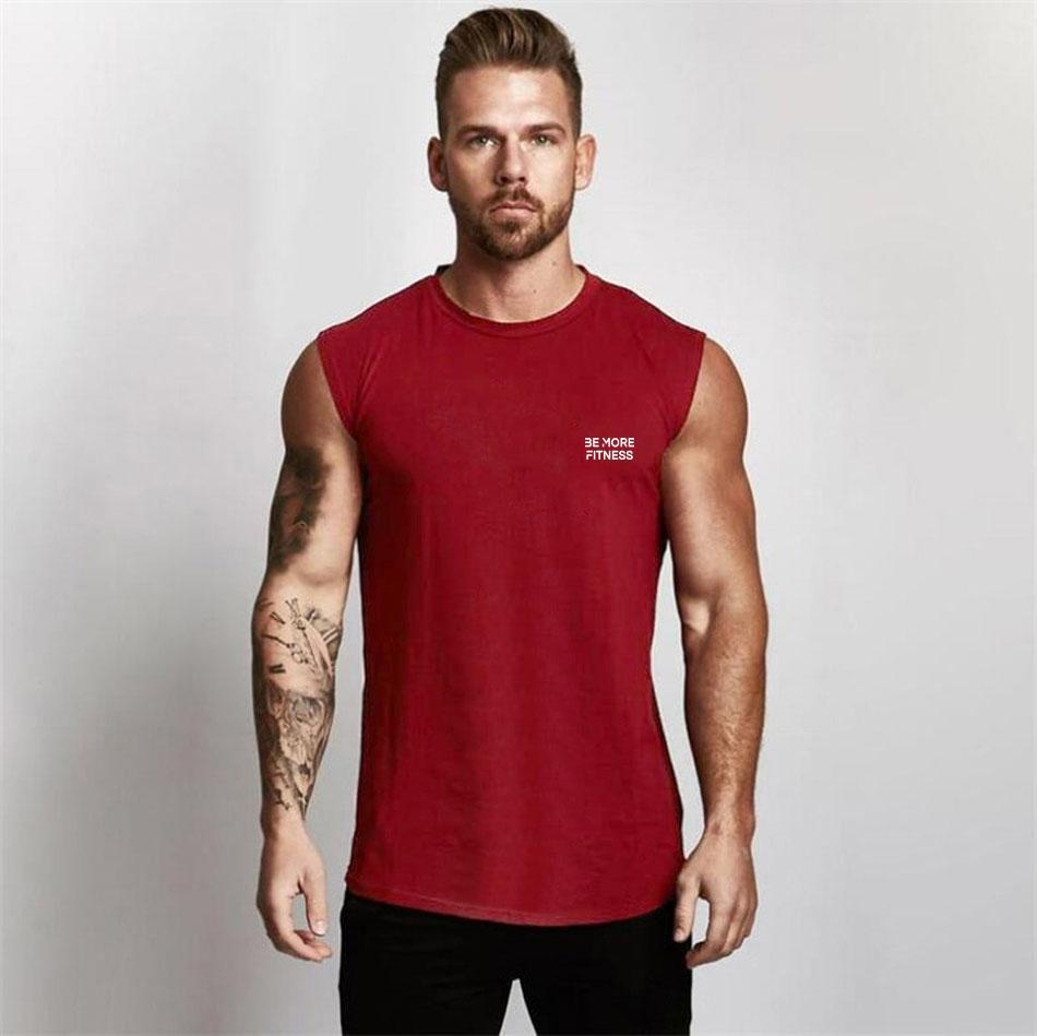Fitted Sleeveless Shirt-T-Shirt-Be More Fitness® Ltd-Be More Fitness® Ltd