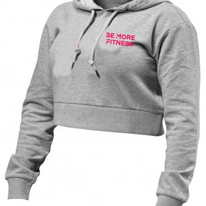 Cropped Hoodie-hoodie-Be More Fitness UK-S-Be More Fitness® Ltd