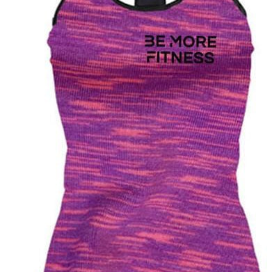 Tri-Blend Tank Top-Tank Top-Be More Fitness UK-S-Be More Fitness® Ltd