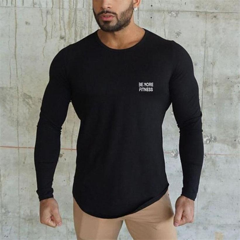 Slim Fitted Longsleeve-Tops-Be More Fitness® Ltd-Be More Fitness® Ltd