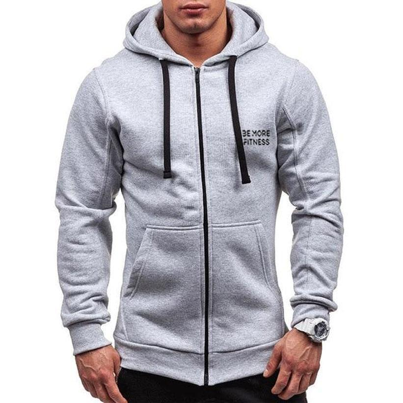 Performance Zipper Hoodie-hoodie-Be More Fitness® Ltd-Be More Fitness® Ltd
