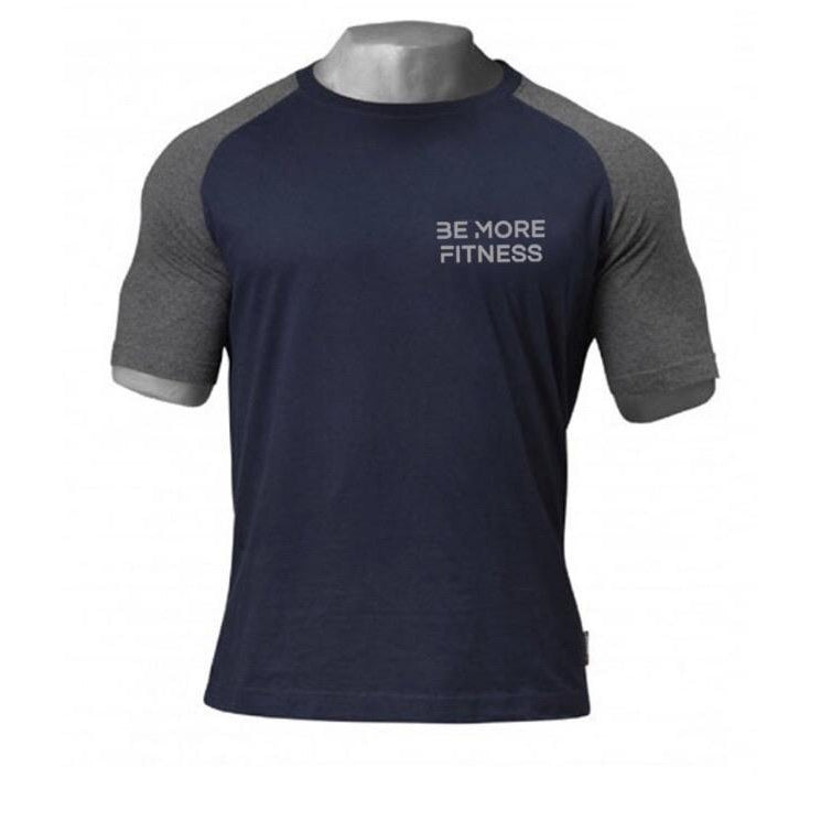 Raglan Performance T-Shirt-Tops-Be More Fitness UK-M-Be More Fitness® Ltd