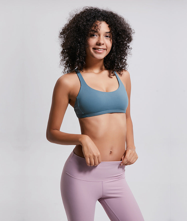 Breeze Cross Sports Bra-Sports Bra-Be More Fitness® Ltd-Be More Fitness® Ltd