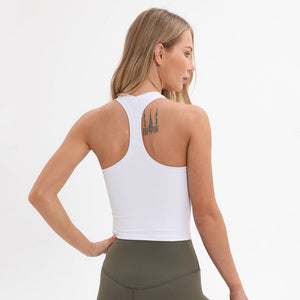 Breeze Tank Crop Top-Tank Top-Be More Fitness® Ltd-White-XS-Be More Fitness® Ltd