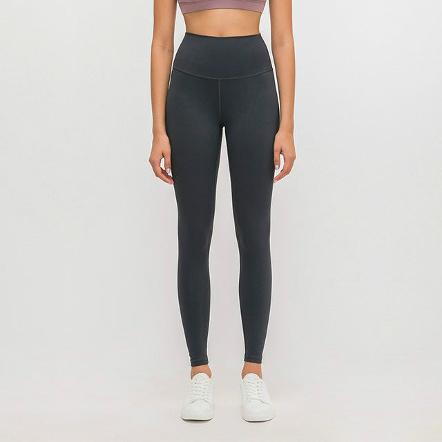 Breeze Stretch High waist Leggings-Leggings-Be More Fitness® Ltd-Pure Blue Black-M-Be More Fitness® Ltd
