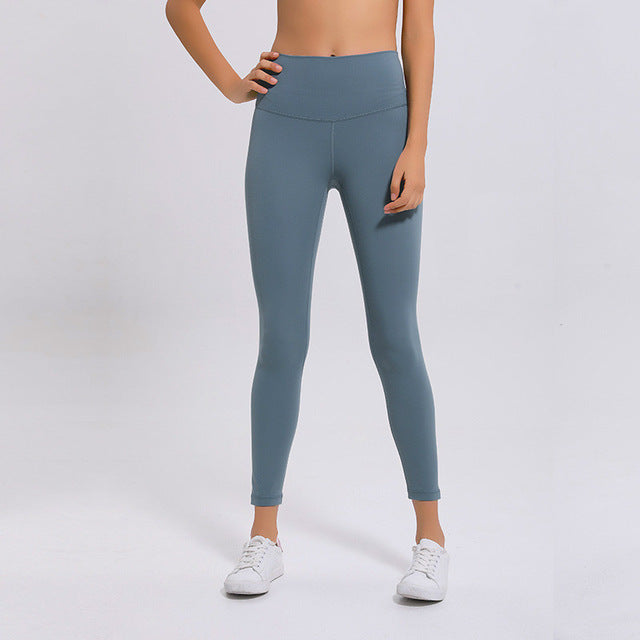 Breeze Stretch High waist Leggings-Leggings-Be More Fitness® Ltd-Mysterious Green-XS-Be More Fitness® Ltd