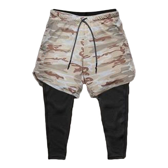 Utility Legging Shorts-Shorts-Be More Fitness® Ltd-Light Camo-L-Be More Fitness® Ltd