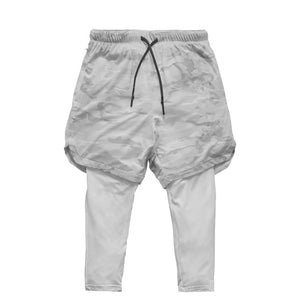 Utility Legging Shorts-Shorts-Be More Fitness® Ltd-White Grey-XS-Be More Fitness® Ltd