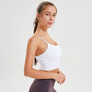 Breeze Crop Top-Tops-Be More Fitness® Ltd-White-L-Be More Fitness® Ltd